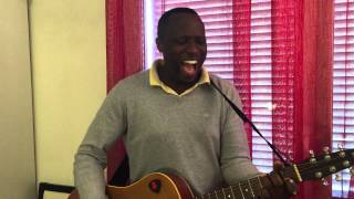 I know who i am/ Sinach cover by Jonathan Ced