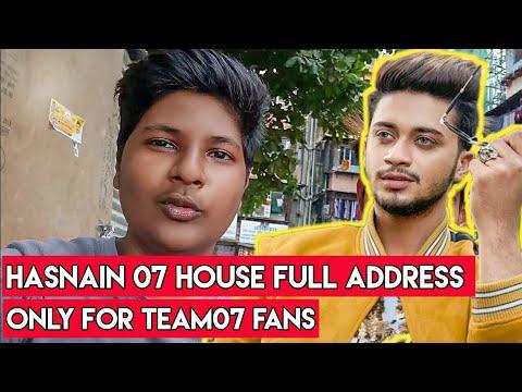 TikTok Star Team07 Hasnaink07 House Address Leaked/Revealed In Mumbai || I Met Team 07 ||