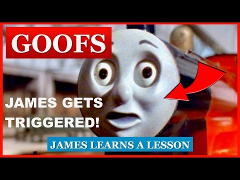 Goofs Found In James Learns A Lesson (All Of The Mistakes)