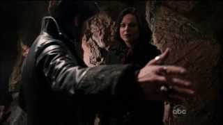 "Once Upon A Time 2x20  ""The Evil Queen"" Regina & Hook Betrayed Each Other HD"
