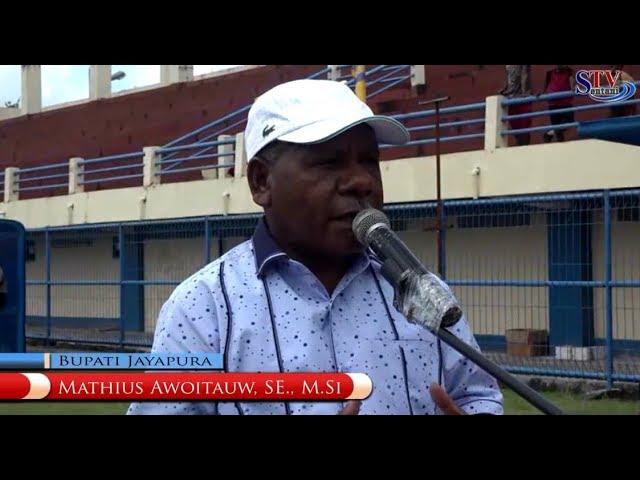 Bupati Jayapura Buka Liga Pelajar Usia 12  Tahun. | DISPORA