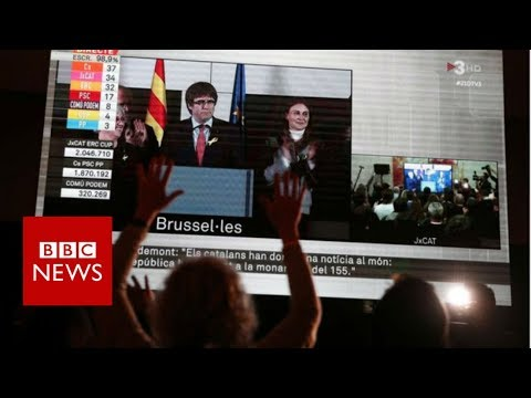 Catalonia election: Puigdemont calls for talks with Spain - BBC News