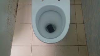 Смотреть видео уронил смартфон в туалет