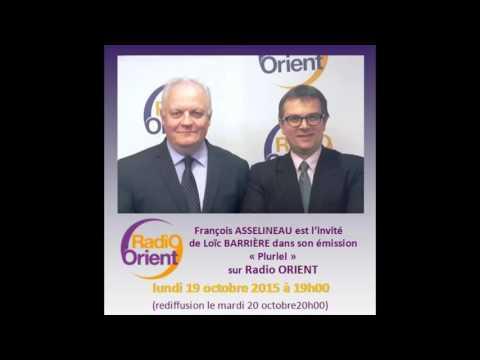 François Asselineau invité de Loïc Barrière sur Radio Orient