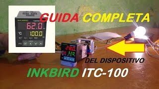 Inkbird ITC-100 PID (GUIDA COMPLETA) [ita]