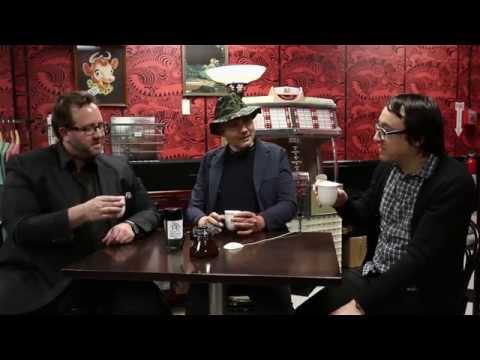CANADIAN SMOKED ICE WINE ELIXIR TEA TASTING WITH BILLY CORGAN + RODRICK MARKUS + JEFF SCHROEDER