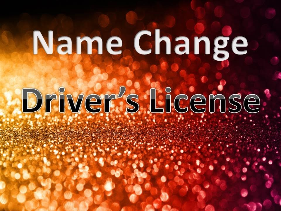 change name drivers license florida