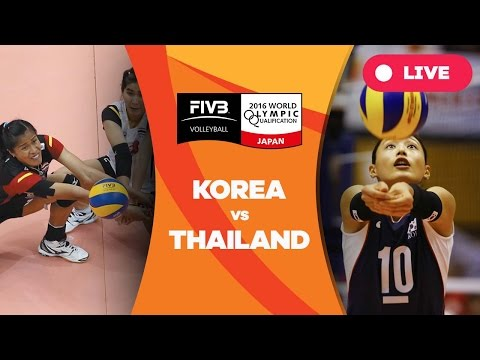 Korea v Thailand - 2016 Women's World Olympic Qualification Tournament