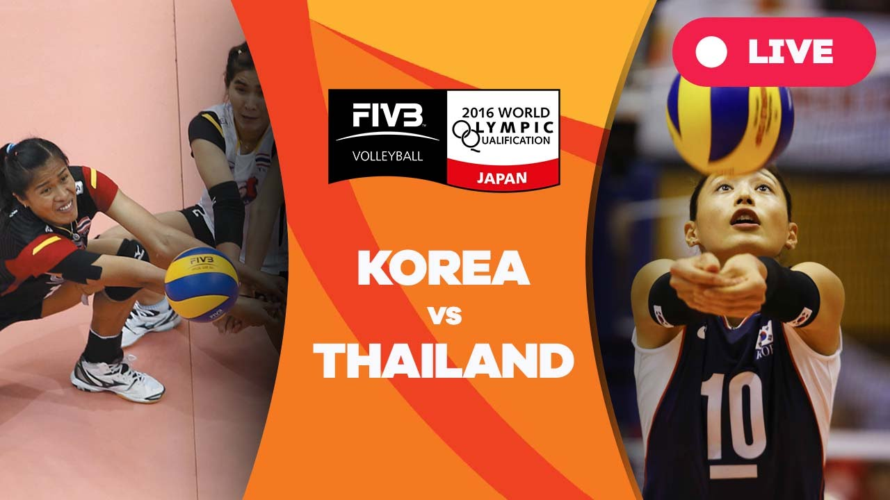 Korea v Thailand - 2016 Women's World Olympic Qualification Tournament