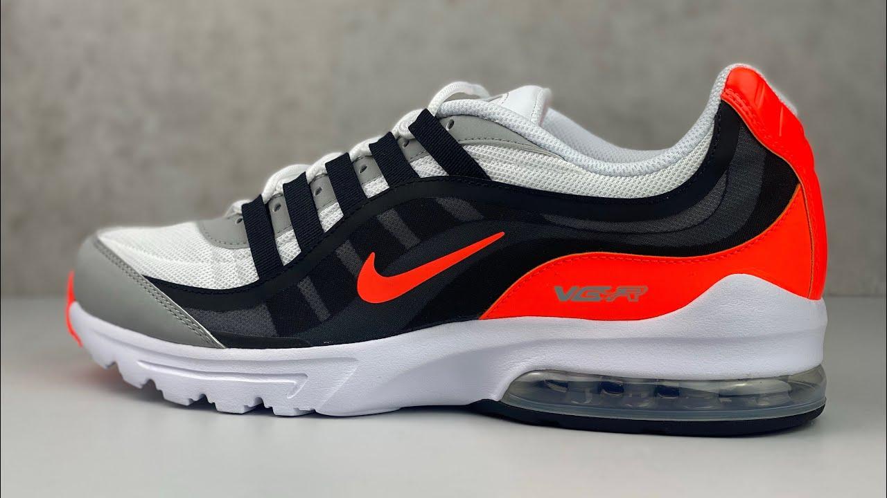 Nike Air Max VG-R 'Black/ total crimson'   UNBOXING & ON FEET   fashion shoes   2020