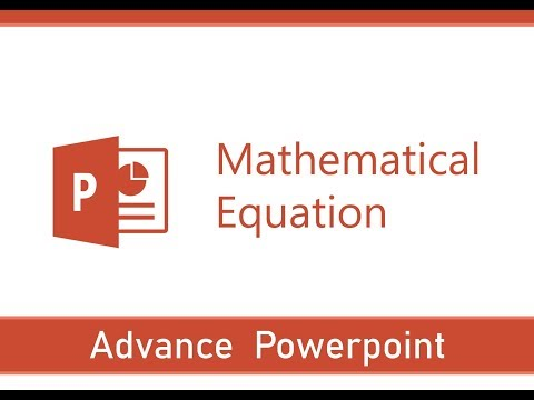 How to Write Mathematical Equation in Power Point | PowerPoint Formulae | Symbols