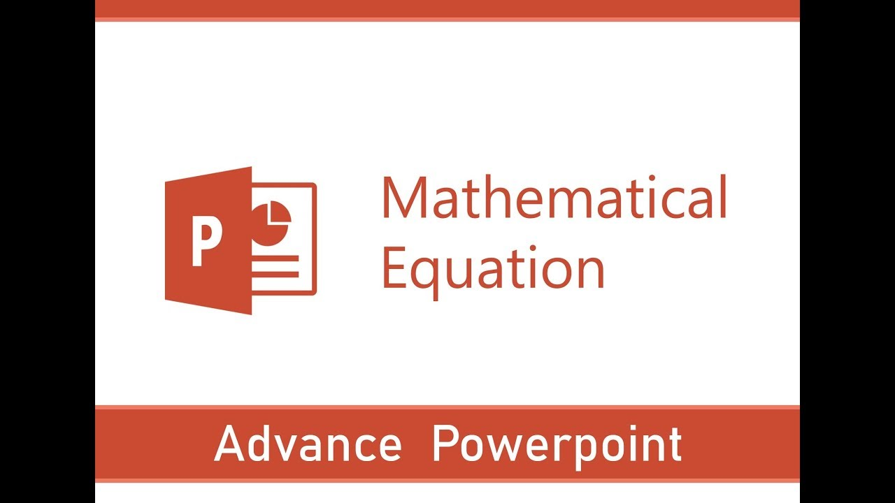 How to Write Mathematical Equation in Power Point  PowerPoint Formulae   Symbols