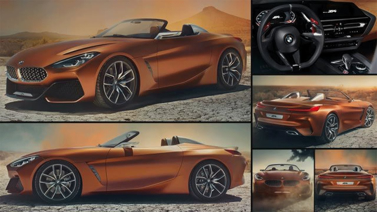 bmw z4 roadster 2017 bmw z4 returns in stunning new concept bmw concept z4 youtube. Black Bedroom Furniture Sets. Home Design Ideas