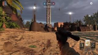Starwars Battlefront 1 gegen 1 auf Scarif Landeplatz 13