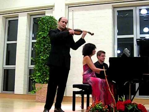 David Yonan performs Gershwin, live in Germany, 2010