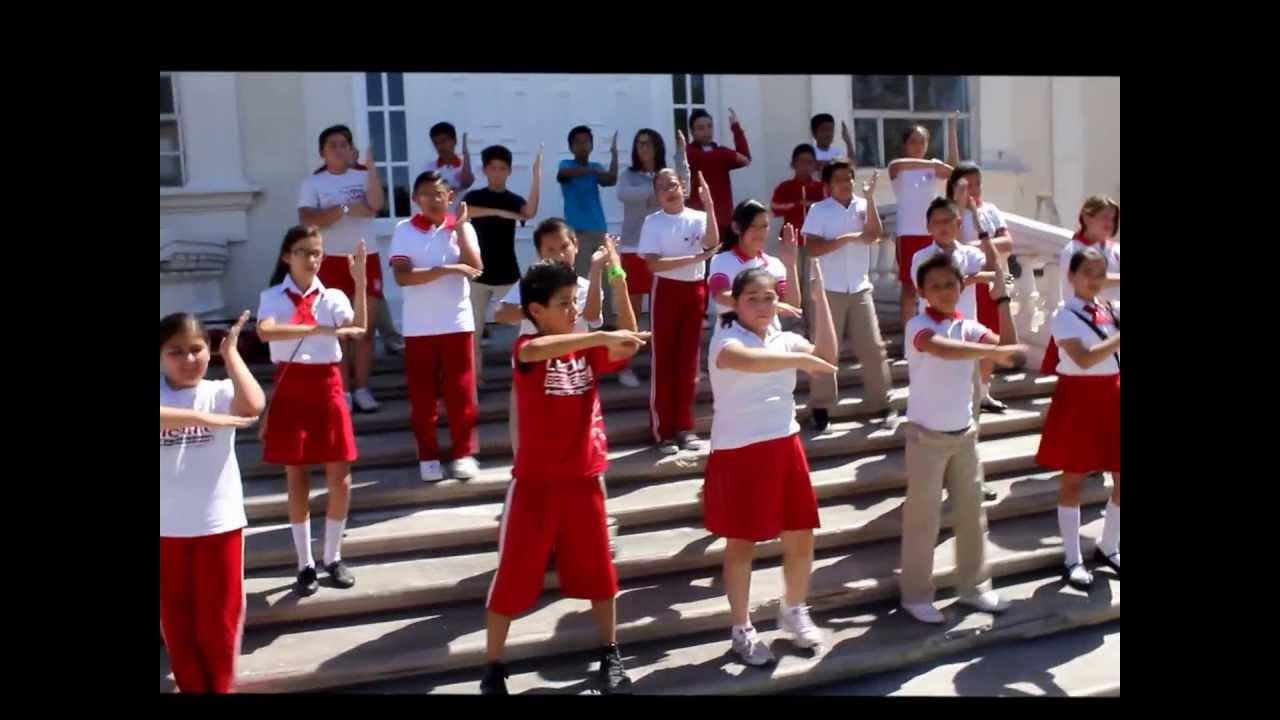 Gimnasia Cerebral 6to. D Leona Vicario Mexicali - YouTube