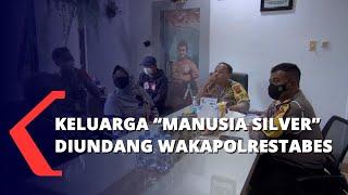 Keluarga Manusia Silver Diundang Wakapolrestabes