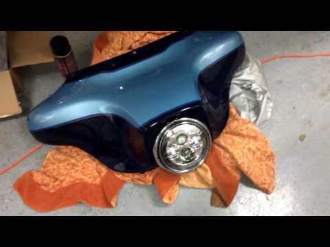 Harley Gauge Light Replacement - Red LEDs - No Fog