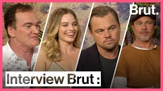 Interview Brut : l'équipe de Once Upon a Time in Hollywood