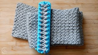 How to Loom Knit a Scarf | Easy Pattern for Beginners | The Sweetest Journey