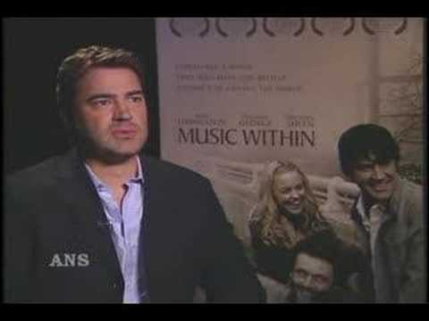 RON LIVINGSTON LISTENS TO THE MUSIC WITHIN
