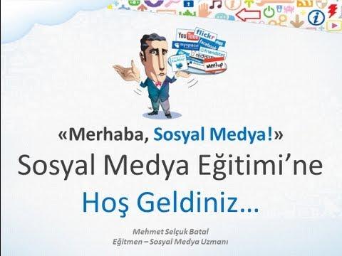 Merhaba, Sosyal Medya! (A'dan Z'ye Sosyal Medya Eğitimi)