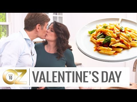Dr. Oz Cooks For His Wife For Valentine's Day
