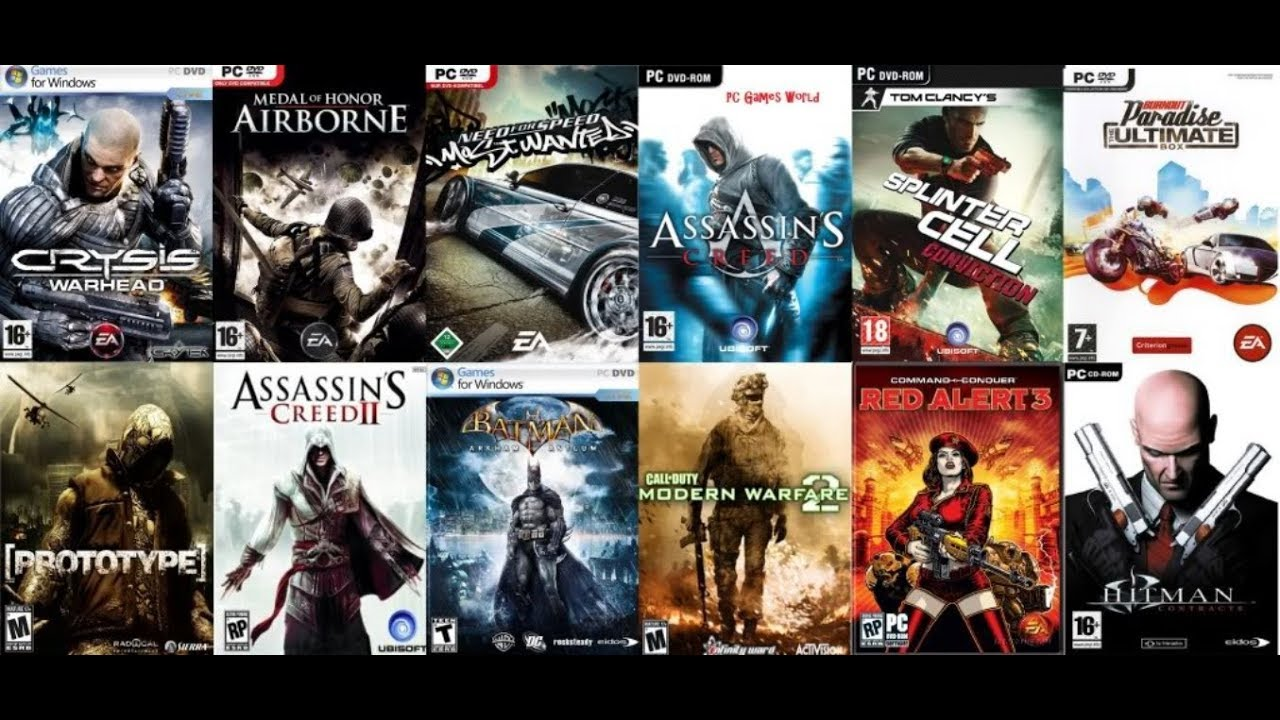 Best websites to download pc games.
