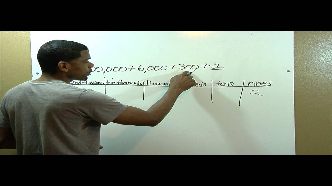 4th Grade Math Common Core Module 1 Lesson 4 Review Youtube