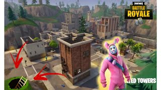 SECRET PASSAGE AT FORTNITE (Crooked Towers) Fortnite: Bataille Royale
