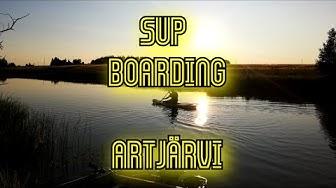 Summer 2019 SUP Boarding at Artjärvi