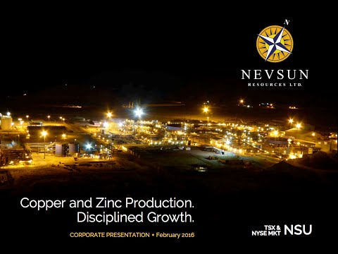 Nevsun's transition to a significant zinc producer