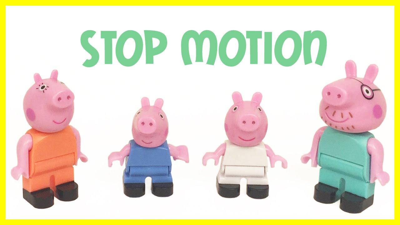 PEPPA PIG Hospital Ambulance Stop Motion Juguetes de Peppa ...
