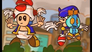 Mario and Sonic at the London Olympics in 7 minutes DX (2012)