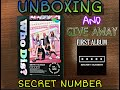 UNBOXING WHO DIS FIRST ALBUM SECRET NUMBER AND GIVE AWAY
