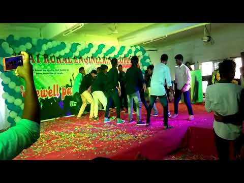 """VREC 2k18 farewell party dance performance from """" civil """""""