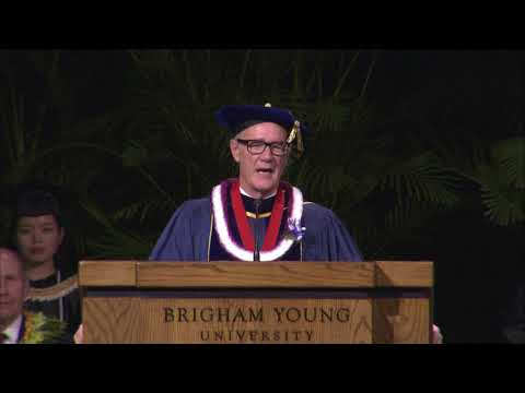 BYU Hawaii Commencement Ceremony April 21, 2018