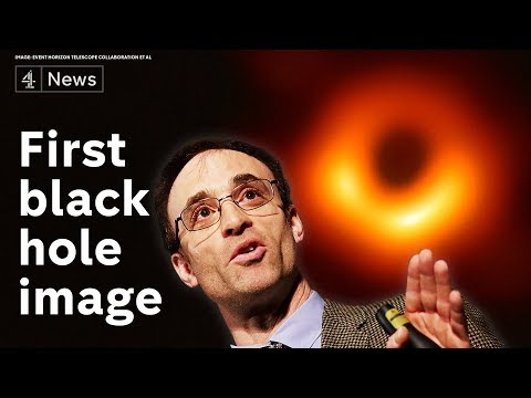 Black hole image revealed for the first time - full announcement