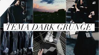 COMO EDITAR AS FOTOS DO INSTAGRAM // TEMA ESCURO / DARK / GRUNGE