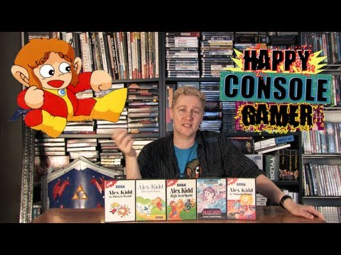 ALEX KIDD SERIES REVIEW - Happy Console Gamer