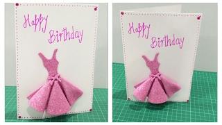DIY- Birthday Card for Girls