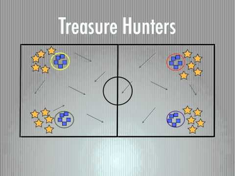 P.E. Games - Treasure Hunters
