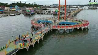 Pesona Kampung Pelangi. Kampung Bugis Tanjungpinang Pulau Bintan  Kepulauan Riau