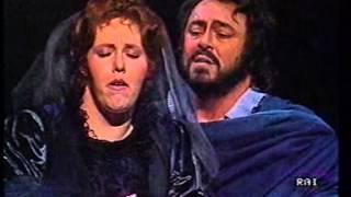 Verdi: Un Ballo in maschera. Abbado - Pavarotti. Vienna 1986. Part 2 of 3.