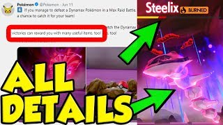 Everything You Missed About MAX RAID BATTLES In Pokemon Sword and Shield!