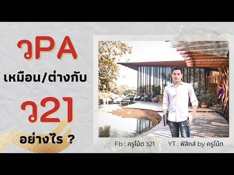 วPA เหมือน/ต่างกับ ว21 อย่างไร วิทยฐานะเกณฑ์ใหม่ 2564 / วPA