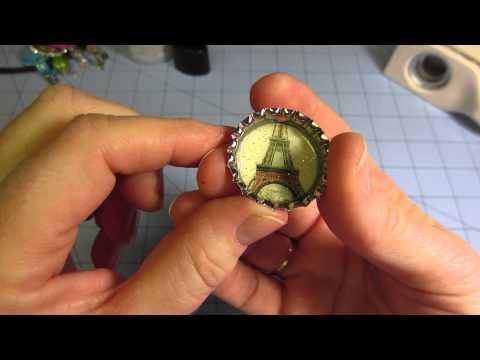 bottle cap charm tutorial