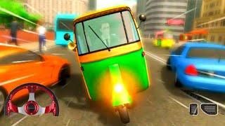 Mountain Auto Tuk Tuk Rickshaw : New Games 2021- Android Gameplay screenshot 1