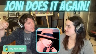 OUR FIRST REACTION to Joni Mitchell - The Tea Leaf Prophecy   COUPLE REACTION (BMC Request)