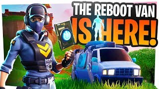 REBOOT VAN is HERE - We can finally respawn our friends in Fortnite